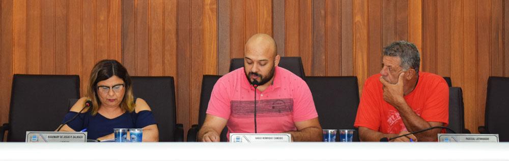 Câmara Municipal realiza a 15ª Sessão Extraordinária de 2019