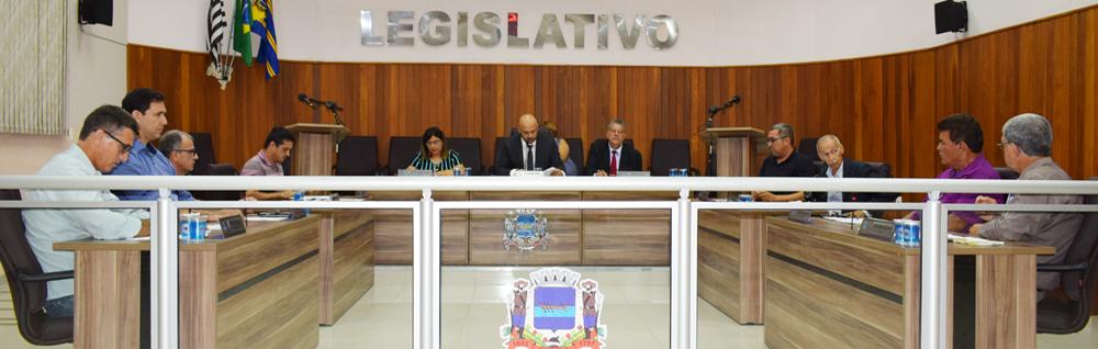 Câmara Municipal realiza a 3ª Sessão Ordinária de 2020