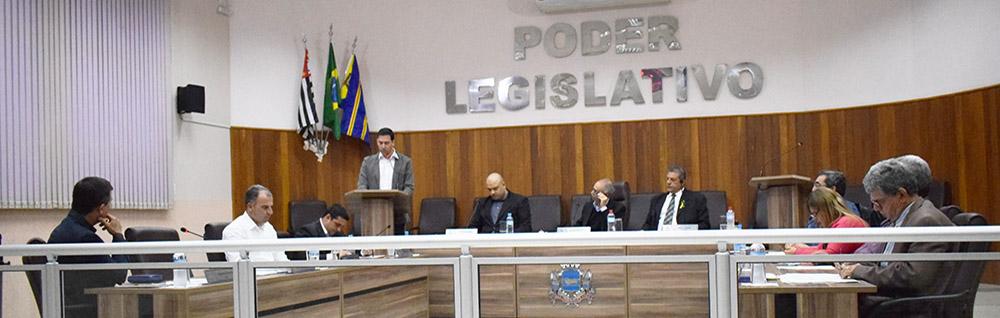Câmara Municipal realiza a 20ª Sessão Ordinária de 2018