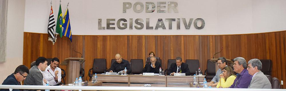 Câmara Municipal realiza 25ª Sessão Ordinária do ano