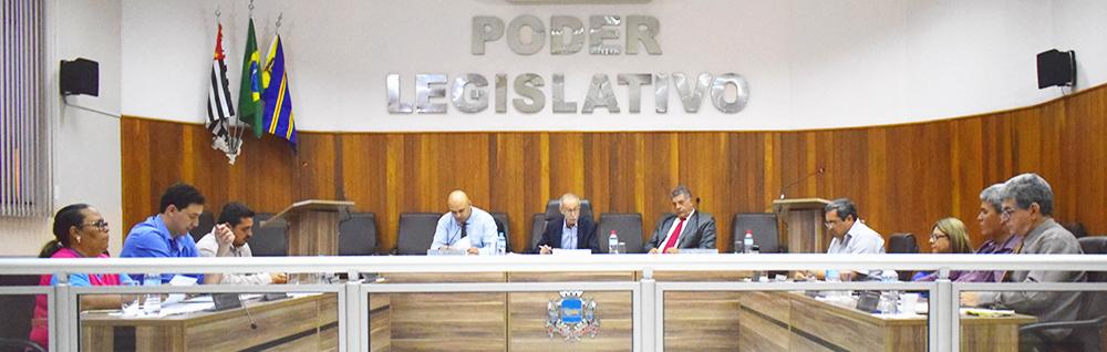 Câmara Municipal realiza a 25ª Sessão Ordinária de 2018