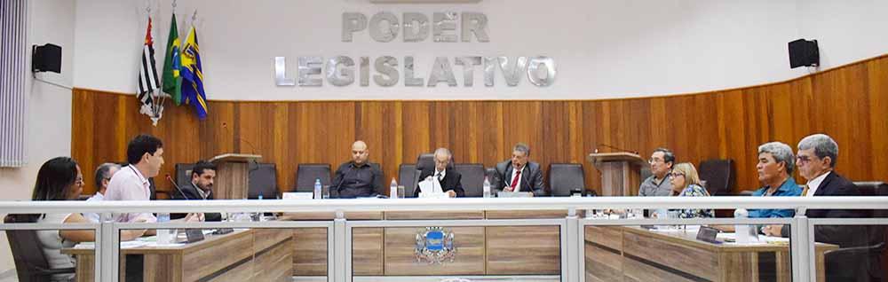 Câmara Municipal realiza a 26ª Sessão Ordinária de 2018