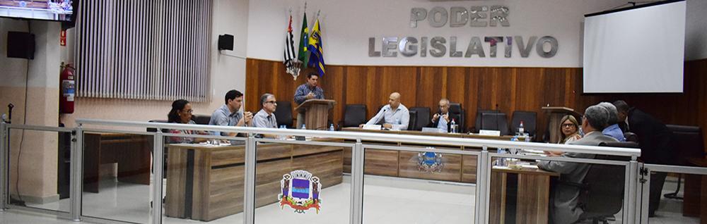 Câmara Municipal realiza a 27ª Sessão Ordinária de 2018