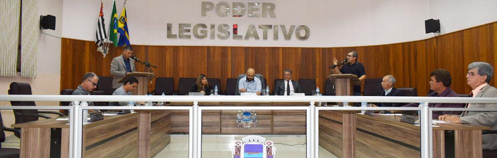 Câmara Municipal realiza a 27ª Sessão Ordinária de 2019