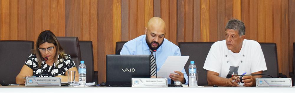 Câmara Municipal realiza a 2ª Sessão Ordinária de 2019