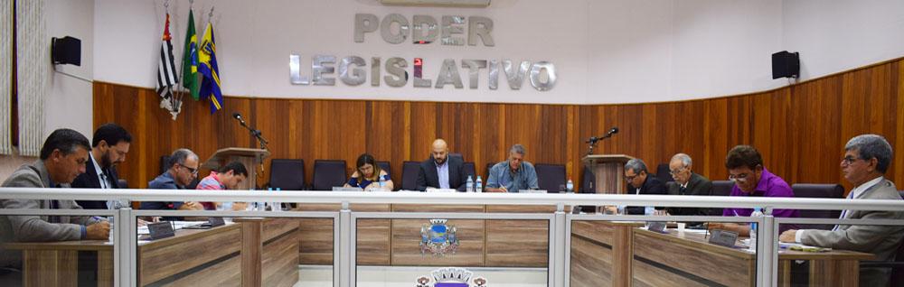 Câmara Municipal realiza a 31ª Sessão Ordinária de 2019