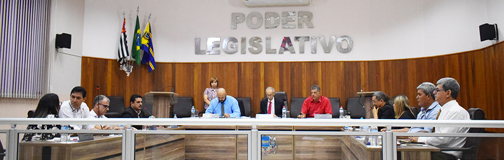 Câmara Municipal realiza Sessão Especial de eleição da Mesa Diretora