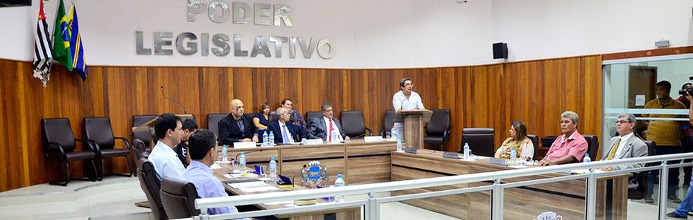 Câmara Municipal realiza a 8ª Sessão Ordinária de 2018
