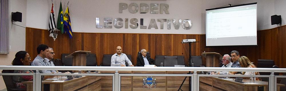 Câmara Municipal realiza Audiência Pública para discutir o Orçamento de 2019