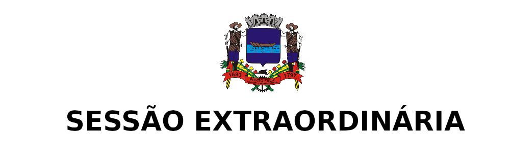1ª SESSÃO EXTRAORDINÁRIA DE 2019