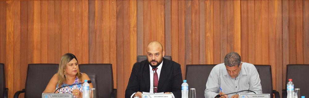 Câmara Municipal realiza a 4ª Sessão Extraordinária de 2019