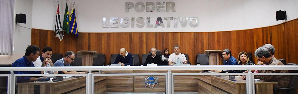 Câmara Municipal realiza a 7ª Sessão Extraordinária de 2018